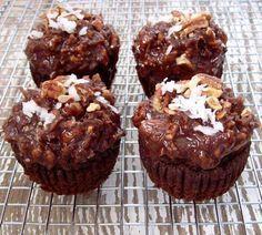 coconut flour chocolate cupcakes