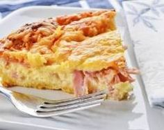 Quiche Lorraine has never been easier or tastier.and you can all tell your hubbies that yes, real men DO eat quiche and they can also use the Multifryer from De'Longhi Australia to cook it (while you put your feet up with a glass of wine! Low Carb Breakfast Easy, Baked Breakfast Recipes, Breakfast Bake, Breakfast Casserole, Ham And Cheese Quiche, Quiche Dish, Ham Quiche, Quiche Sans Gluten, Bolos Light
