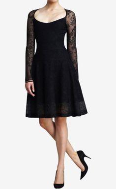Zac Posen Black Dress | VAUNTE.     Love the style!!