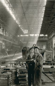 Two Factory Workers, Georgia, U.S.S.R., by Henri Cartier-Bresson, 1954