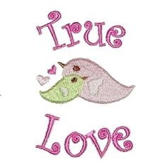 Be My Valentine Set, 4x4 - 12 Designs!   Words and Phrases   Machine Embroidery Designs   SWAKembroidery.com Patti Studio
