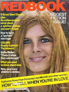 Katharine Ross, Liza Minnelli, Faye Dunaway, Bette Midler, Beauty Contest, Perfect Marriage, Fiction Novels, Vintage Magazines, Other Woman