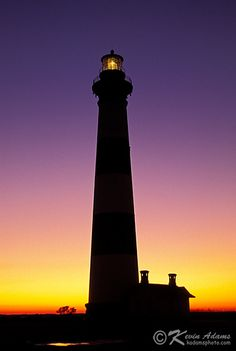 Bodie Island Lighthouse-Cape Hatteras National Seashore-Outer Banks by KAdamsPhoto.com, via Flickr