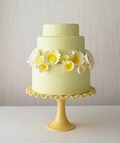 Tulip cake, simple, beautiful
