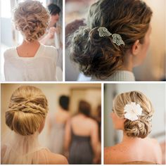 boda peinado novia moño bajo