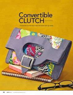 #Free #Clutch #Sewing #Pattern by @Sarah Chintomby Chintomby Mandell White Sweetness