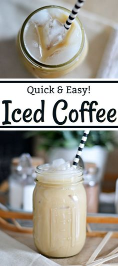 A quick and easy recipe for a creamy iced coffee you can make from the comfort of your own home. Skip the expensive coffeehouse and try this! #BrewAsYouPlease #ad