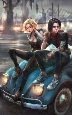 Android 17 & 18 by Ivan Tao