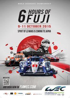 LusoRacer: WEC   Poster 6H de Fuji #wec