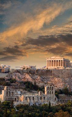 Greece Wallpaper, Of Wallpaper, Athens Greece, Acropolis Greece, Beautiful Places To Travel, Stonehenge, Ancient Greece, Greece Travel, Greek Islands