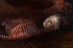 Arte Horror, Horror Art, Renaissance Kunst, Arte Obscura, Macabre Art, Creepy Art, Caravaggio, Conceptual Art, Aesthetic Art