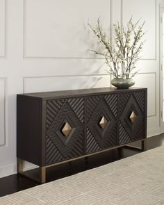Credenza Decor, Modern Sideboard, Modern Buffet Table, Sideboard Table, Buffet Console, Console Cabinet, Media Cabinet, Cabinet Storage, Console Tables