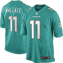 Mens Nike Miami Dolphins Mike Wallace Game Team Color Jersey - NFLShop.com Sports  Uniforms 5946ef0b5