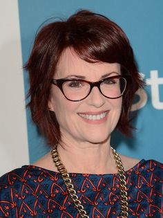 Megan Mullally's Short Hairstyle - Haute Hairstyles for Women Over 50 - Photos