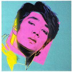 Ryuichi Sakamoto by Andy Warhol Andy Warhol Works, Andy Warhol Museum, Electronic Music, Record Producer, American Artists, Manga Art, Music Artists, Cover Art, Graphic Art