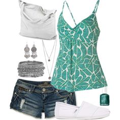 Nice for a summer day at the beach or just hanging out with friends and family.