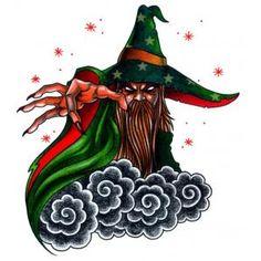 Evil Wizard Tattoo