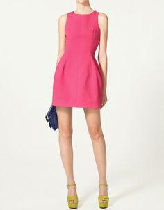 Pink Dress (Zara) by tanya