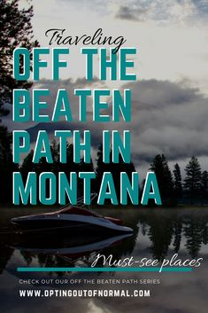 Montana is amazing. We were lucky enough to spend a while summer up there. Come check out the fun Off the Beaten Path places and hidden gems we found.  You'll want to put Montana on your destination bucket list for your vacation this year! Make sure to bring the kids! They'll love exploring the amazing sights in Montana too. Great family vacation destination! #montana #travel #exploring #hiddengems #offthebeatenpath