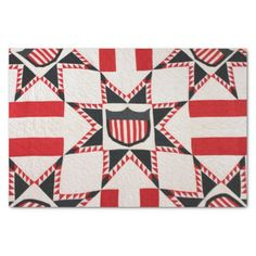 Feathered Star Quilt Tissue Paper