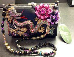 Mary Frances Fired Up Embellished Handbag NWT