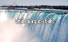 Done and loved it! I went during the summer and the weather was perfect. This place would be wonderful during winter as well. I can still feel the rumble from the falls shaking my body a mile away.