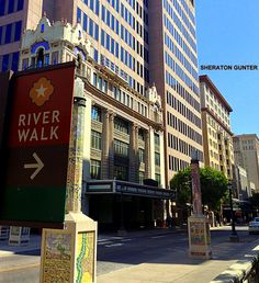 We are located directly across the street from the world famous River Walk in downtown San Antonio!