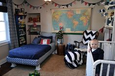 this might be an easy transition for little M's travel nursery to big boy room later on.