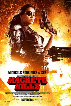 Michelle Rodriguez, Machete Kills
