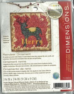 Dimensions Brand    Counted Cross Stitch   by CynthiasCraftingNook