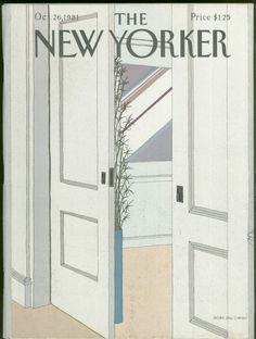 New Yorker Magazine - October 26, 1981 - Cover by Gretchen Dow Simpson
