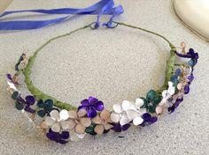 nail polish flower crown | Tumblr
