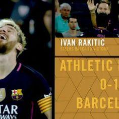 Le Barça s'impose avec un petit but contre l'Athletic Bilbao