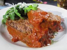 You can't resist Nadia's Meatloaf with Awesome Sauce!