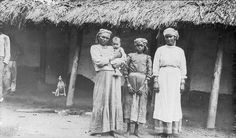 East Indian Labourers. Jamaica 1910