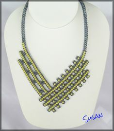 GREAT structure on this necklace by Susan.