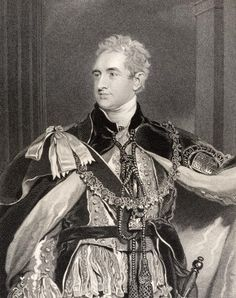 Robert Stewart Lord Castlereagh, 2nd Marquess of Londonderry, engraved by G. Adcock, from 'National Portrait Gallery', published c.1835 (litho) Wall Art Prints by Sir Thomas Lawrence