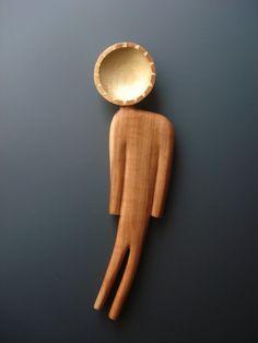 Sunshine On My Shoulder   wooden spoon par Spoontaneous sur Etsy, $105,00
