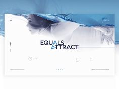 Equals Attract UI Concept by Cult Digital by Δ Cult Digital Δ - Dribbble