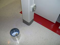 commercial building cleaning - strip & seal of vinyl floors Commercial Cleaning Services, Vinyl Flooring, Floors, Seal, Home Appliances, Bathroom, Building, Home Tiles, House Appliances
