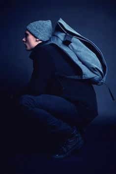 côte&ciel ISAR L - iconic architectural, durable and sustainable Unique Backpacks, Personalised Gifts For Him, Strike A Pose, Men Looks, Ciel, Stylish Men, Casual, Winter Hats, Menswear