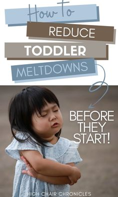 Try these easy tips to reduce toddler meltdowns before they start. Toddler-hood can be a tough time, but these parenting tools will help you manage. Learn how to stop tantrums with these easy parenting hacks and advice! Postpartum Recovery, Baby Gear, New Moms, Parenting Hacks, Breastfeeding, I Am Awesome, Tips, Advice, Easy