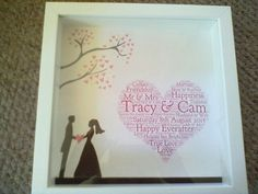 Wedding Gifts  Incorporate your invitation into a gift.
