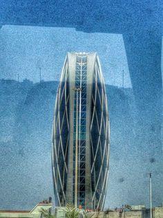 World's first circled skyscraper - Aldar