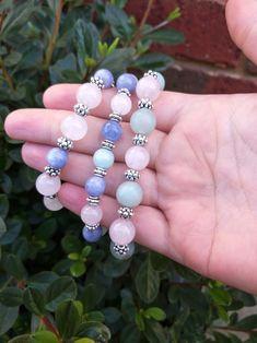 By Pagan Moon Moon Store, Crystal Bracelets, Bracelet Designs, Pagan, Rose Quartz, Photo And Video, Crystals, Videos, Photos