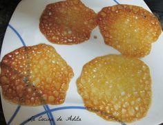 La Cocina de Adita: Crujientes de naranja