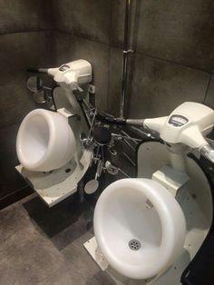 Coolest gent toilets