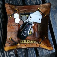 Custom Wallets & Other Badass Gear For The Guy Who Thought He Had Everything Leather Tray, Leather Tooling, Leather Wallet, Christmas Gifts For Boyfriend, Boyfriend Gifts, Wedding Gifts, Wedding Ideas, Edc Gear, License Plates