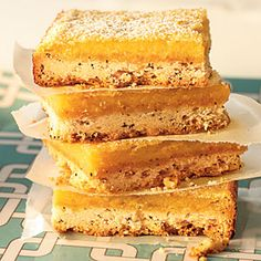 Lemon-Earl Grey Squares - These are freaking amazing.  If you want to make lemon squares and you don't make these then I am personally disappointed in you.  That's how strongly I feel about them.
