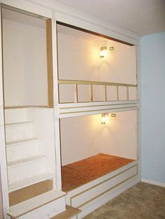 Link to construction plans/steps for built-in bunk beds